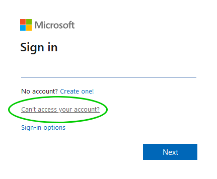 can't access Office365